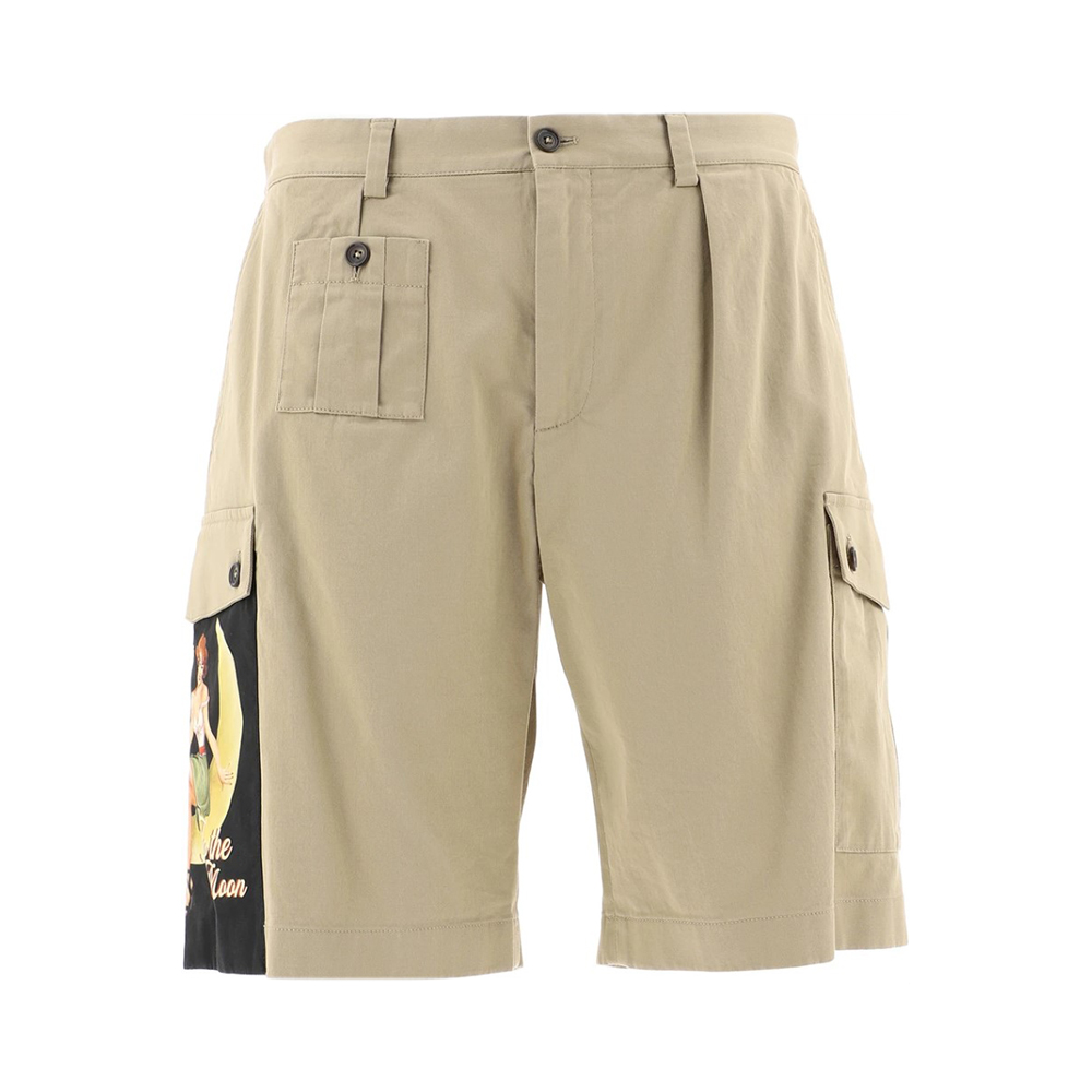most popular products : Dolce & Gabbana Patch Detail Bermuda Shorts