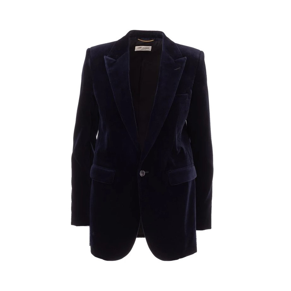 popular products to sell online : Saint Laurent Blue Blazer