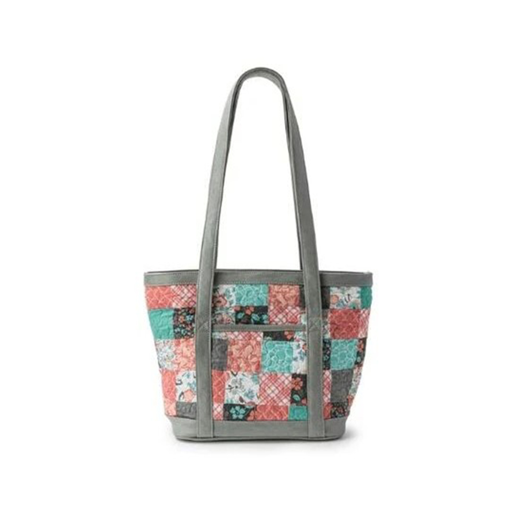 popular products to sell online : Donna Sharp Katie Quilted Patchwork Tote Bag